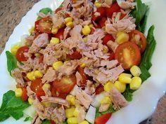 Sałatka z tuńczykiem | Zdrowe Przepisy Pauliny Styś