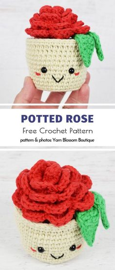 Lovely Crochet Roses Free Patterns Lovely Crochet Roses Free Patterns,Work with the YARN! Potted Rose Free Crochet Pattern Related posts:This Is How I Close The Rubber - Knitting SourceMummy Tote pattern by Yarning. Crochet Motifs, Crochet Amigurumi Free Patterns, Crochet Flower Patterns, Crochet Dolls, Crochet Stitches, Knitting Patterns, Crochet Accessories Free Pattern, Pattern Sewing, Roses Au Crochet