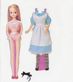 Miss Missy Paper Dolls: anime