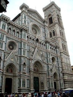 Florence Baptistery and Campanile