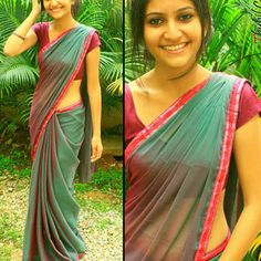 Blessed with a figure that most women pray for? This is the Saree for you ;)