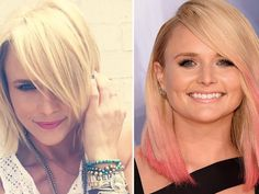 Miranda Lambert goes pink for the CMA Awards -- see her drastic hair makeover!