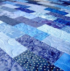 It has always been a goal of mine to make a quilt someday... hope it happens!
