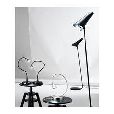 IKEA STOCKHOLM LED golv/läslampa IKEA Använder LED; förbrukar upp till 85% mindre energi och har 20 gånger längre livstid än glödlampor.