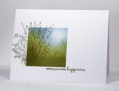 Inkadinkado Meadow  cards