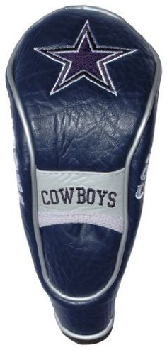 NFL Dallas Cowboys Hybrid/Utility Headcover by Team Golf. $17.99. Fits all utility, rescue and fairway clubs. Velcro closure. 4 location embroidery. Velour lined for extra club protection. Made with Buffalo Vinyl, Polyester Knit and Mesh. NFL Dallas Cowboys Hybrid/Utility Headcover