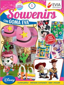 Souvenirs con GOMA EVA Nº 01 - 2015
