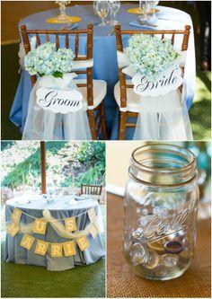 More wedding signage... fun!  Hill City Bride - Aaron Watson Photography - Outdoor Wedding
