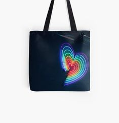 Love S, Chiffon Tops, Reusable Tote Bags, Rainbow, Art Prints, Printed, Awesome, Stuff To Buy, Products