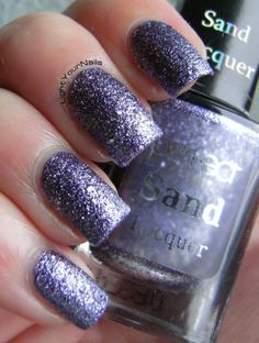 Perfect Sand S75 #nails #nailpolish #textured #lilac #purple #perfect #sand