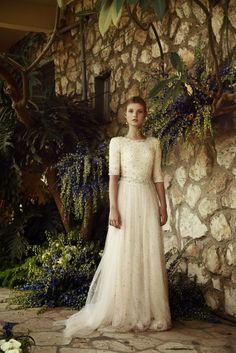 Evening and wedding dresses with sleeves | Shop Mode-sty for stylish modest clothing #nolayering