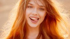 Girl Smile Summer Beauty