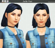 A new hairstyle 'Jade' for your female sims! I hope you enjoy it! C: Credits: EA for the mesh and textures. Made with Sims4 Studio. • Base Game Compatible • Hat Compatible • Custom Thumbnail • 16 EA...