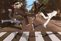 source is , abbey road rage, Love this , look at the shadows !