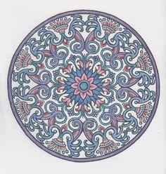 Mystical mandalas 22 done with pencils