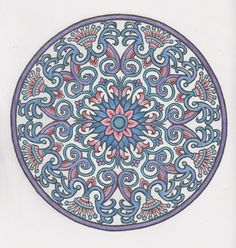 Mystical mandalas 22 done with pencils