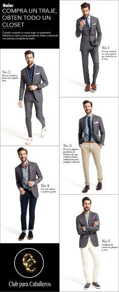 Guía: Compra un traje, obtén un guardaropas