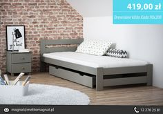 Najlepsze Obrazy Na Tablicy łóżka Drewniane Pojedyńcze 13