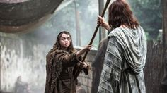 S6E2 - Arya the Blind Beggar & Jaqen  H'ghar