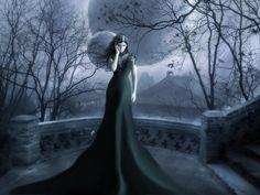 -beautiful, black, gothic ...