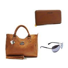 Coach Value Spree 3 items bag + Wallets + Sunglasses