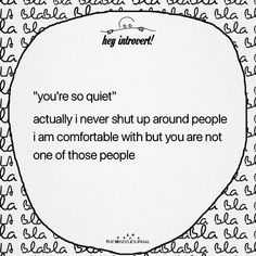 Introvert Personality, Introvert Quotes, Introvert Problems, Mood Quotes, Girl Quotes, Funny Quotes, Crush Quotes, Mbti, Isfj