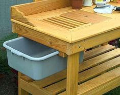 potting table with storage alternate views of cypress potting bench potters bench with storage
