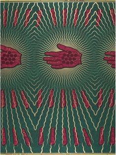 African print fabric - vlisco