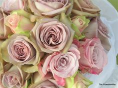 Rose bridal bouquet by The Flowersmiths
