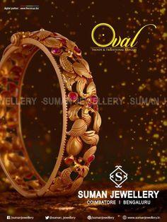 Bracelets en or rose et or Gold Bangles Design, Gold Jewellery Design, Gold Jewelry, Jewelery, Fine Jewelry, Handmade Jewellery, Vintage Jewellery, Antique Jewelry, Armband Rosegold