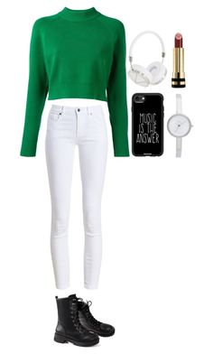 """""""Untitled #392"""" by dutchfashionlover ❤ liked on Polyvore featuring Barbour, DKNY, Casetify, Frends and Gucci"""