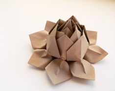 pretty origami flower