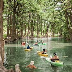 10 Texas Hidden Adventures (this is Krause Springs