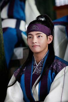 170103 | Le Facebook officiel de 'Hwarang' a posté d'autres photos de Taehyung (Hansung) lors du prochain épisode du drama