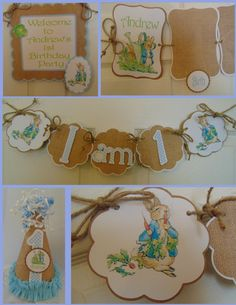 Peter Rabbit 1st Birthday Petite Party by ASweetCelebration