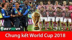 Nhận định Pháp vs Croatia, chung kết WC 2018 - Bet98vn