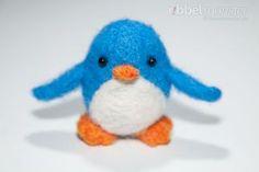 """Nadelfilzen – Pinguin filzen """"Pauly"""""""