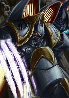 Chaos Raptors Warhammer 40k Art, War Hammer, Book Jacket, The Grim, Mini Paintings, Space Marine, Toy Soldiers, Raptors, Knights