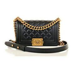 "Chanel Mini ""Le Boy"" Chain Bag"