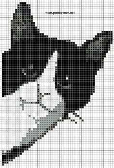 pictures of black and white cross stitch - Google Search