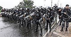 Antonio Lucignano: Brazil 2014, la polizia addestrata dall'FBI