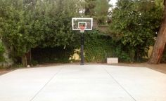 Pro Dunk Gold Basketball in Woodland Hills, CA - Basketball Goal Photo Album