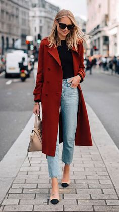"""Outfits Mode für Frauen 2019 - Нейтральный минимализм: Amy Jackson и ее """"городск. Amy Jackson, Chic Winter Outfits, Casual Winter Outfits, Fall Outfits, Autumn Casual, Jeans Outfit Winter, Best Outfits, Casual Friday Work Outfits, Urban Chic Outfits"""