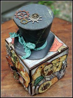 Artist trading block by Lisa Tottle.
