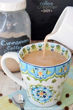 Cinnamon Coffee Creame
