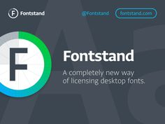 """Try and rent fonts on Fontstand - You can """"try"""" a font for an hour, or """"rent"""" a style for $4.00 a month!  COOL!"""