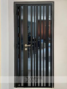 Mild Steel Gate Modern Design & Retro Gate Design, we are able to customise to what you need to match with your home interior design. Grill Gate Design, Steel Gate Design, Iron Gate Design, Window Grill Design, House Main Door Design, Door Design Interior, Front Door Design, Iron Doors, Metal Doors