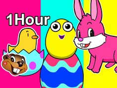 It's a 1 Hour Easter Special for Kids to Learn and Sing Along too with Surprise Eggs