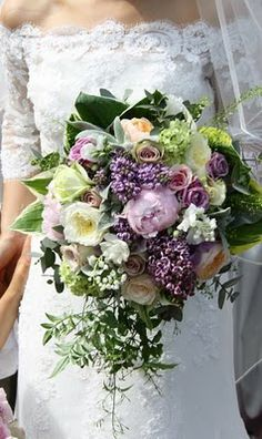 Bridal bouqet was heavenly to make, with all of those gorgeous fragrant blooms, I included David Austin's Patience, Juliet & Miranda, Fresh Lily of the Valley, Lilac, Peonies, Amnesia & Metalina Roses , trails of Jasmine and lots of fragrant Herbs and foliages