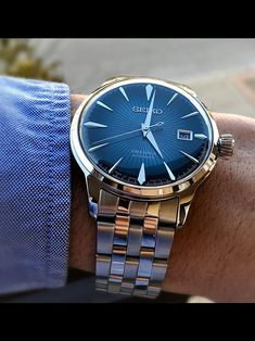 Popular Watches, Best Watches For Men, Amazing Watches, Luxury Watches For Men, Beautiful Watches, Cool Watches, Seiko Presage, Affordable Watches, Hand Watch